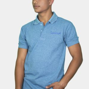 Polo T-Shirt-Sky Blue