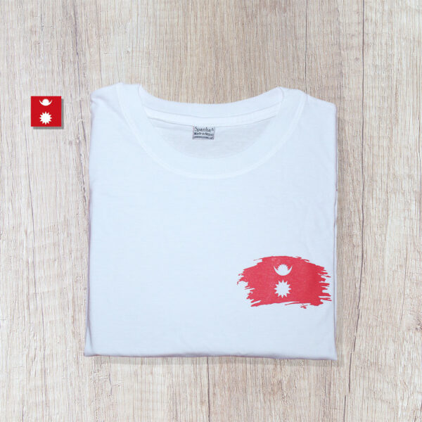Chandra Surya Printed T-Shirt-White
