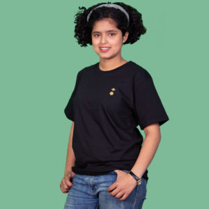 Chandra Surya Printed T-Shirt-Black