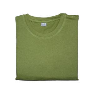 Sparsha Plain Soft Green T-Shirt For Women
