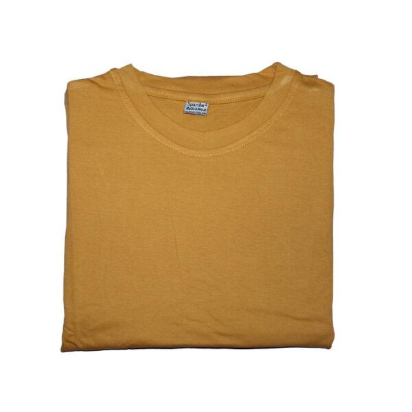 Sparsha Plain Yellow T-Shirt (Unisex)