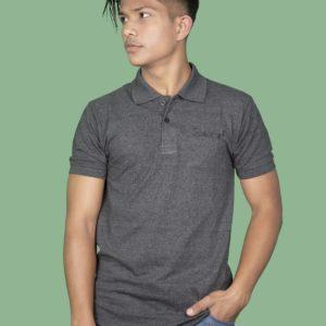 Polo T-Shirt- Dark Grey