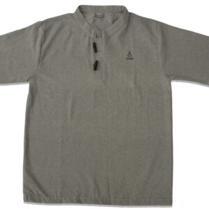 Half Sleeve Kurta (Light Grey)