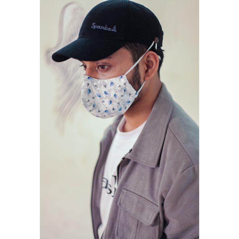 Sparsha Black Capmask
