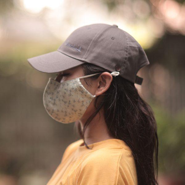 Sparsha Grey Capmask