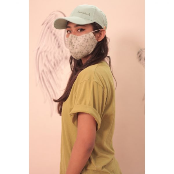 Sparsha Mint Green Capmask