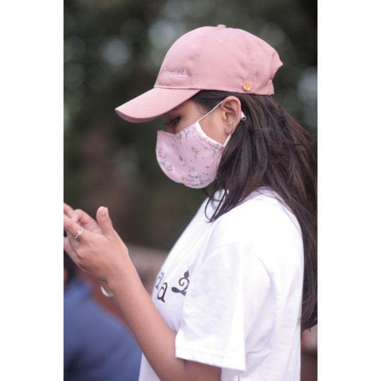 Sparsha Rose Pink Capmask